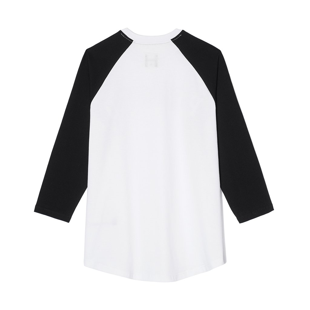 LONGSLEEVE BLOND WHITE/BLACK