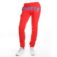 F.ST PANTS FRONT RUBI RED