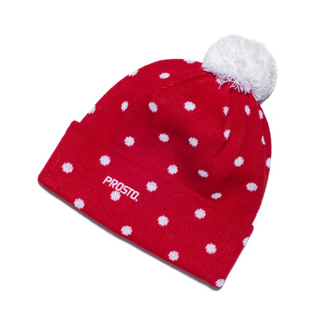 WINTERCAP SNOW RED