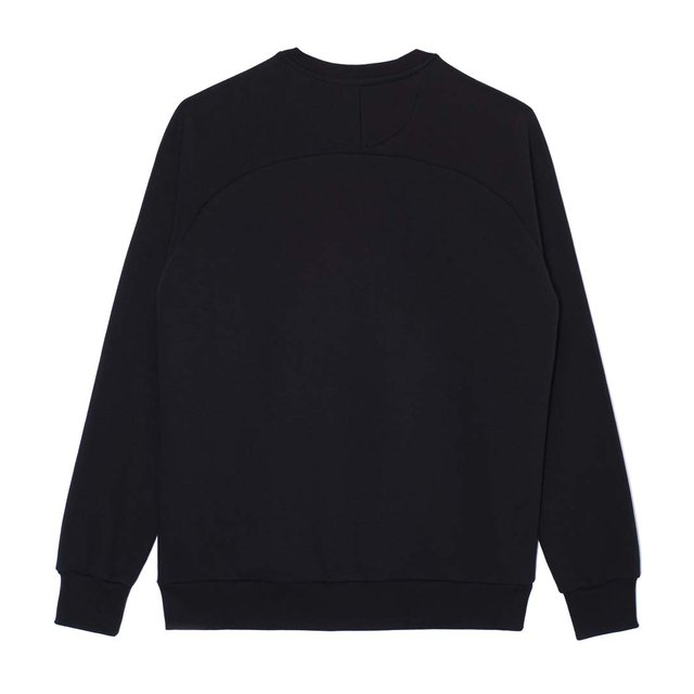 CREWNECK NOVEL TONAL BLACK