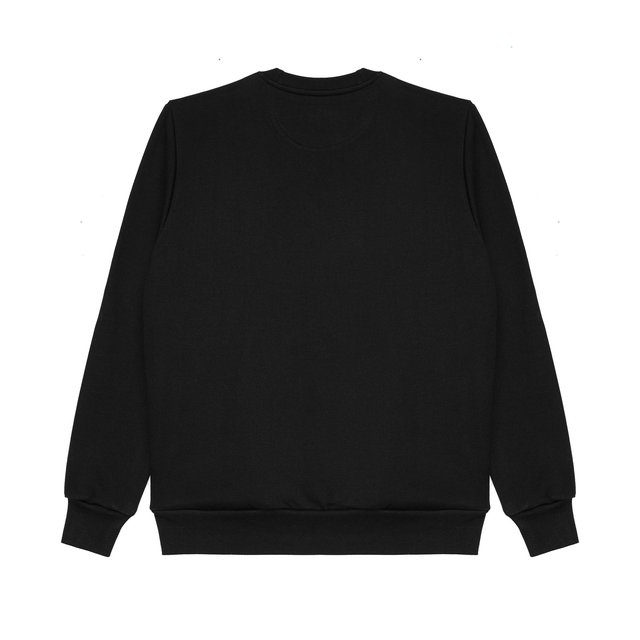 CREWNECK RULES BLACK