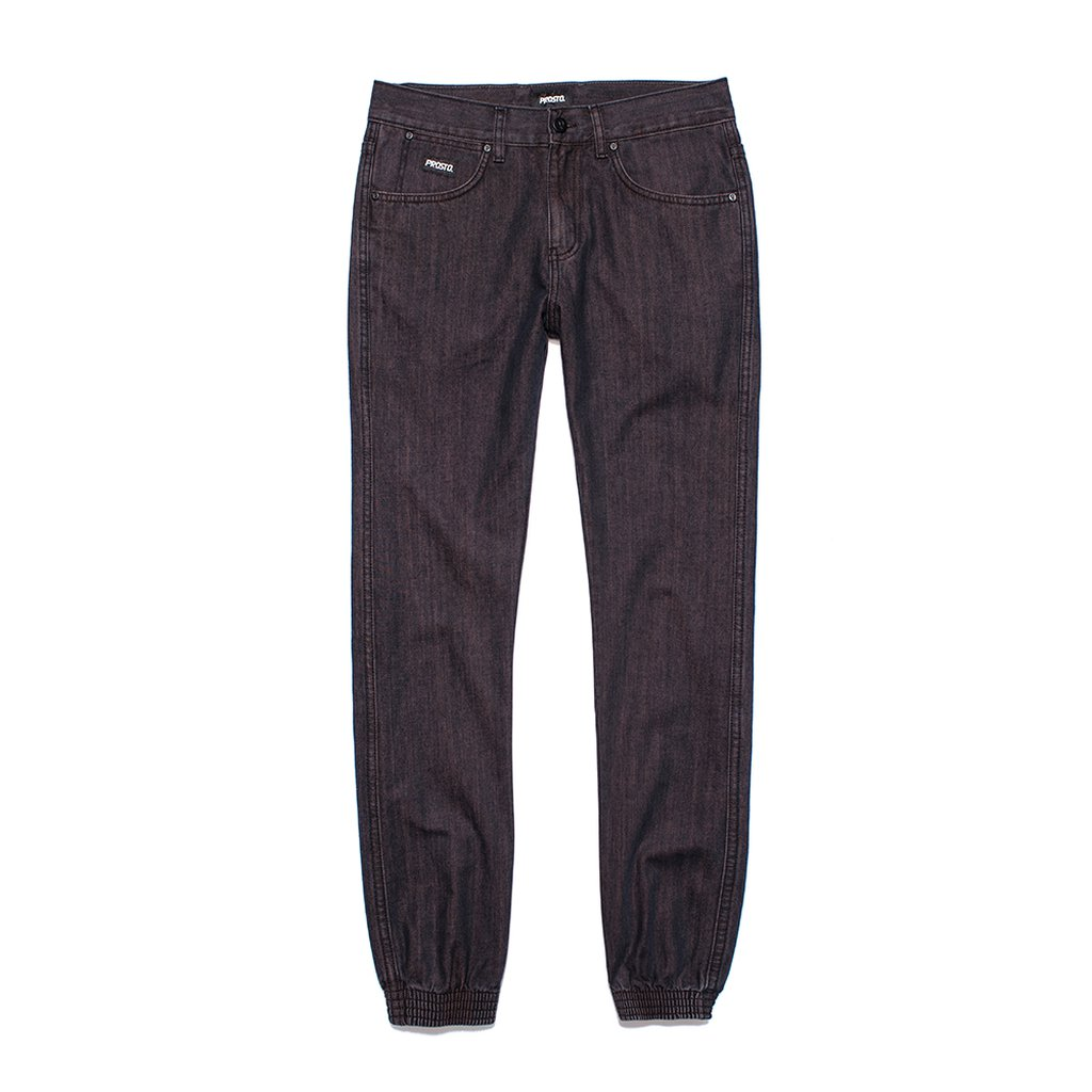 SLIM JOGGER 2 RED WASCHED