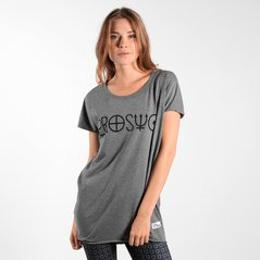 F.EL TEE NAME MEDIUM HEATHER GREY