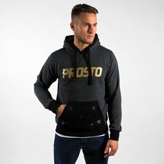 KL HOODY TEMPLATE ANTHRACITE GOLD