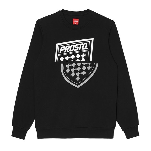 CREWNECK SHARPZ BLACK