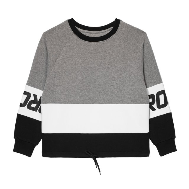 CREWNECK BALET GREY/BLACK