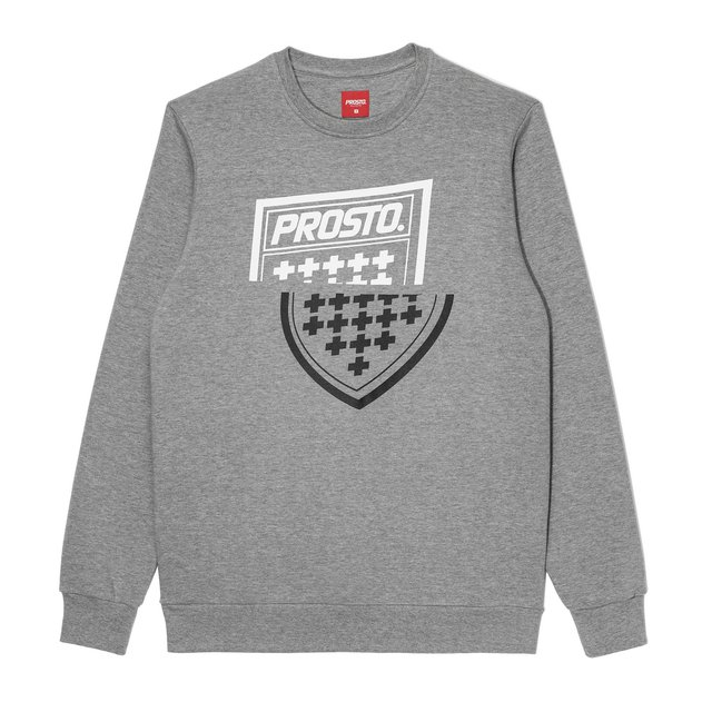 CREWNECK SHARPZ GRAY