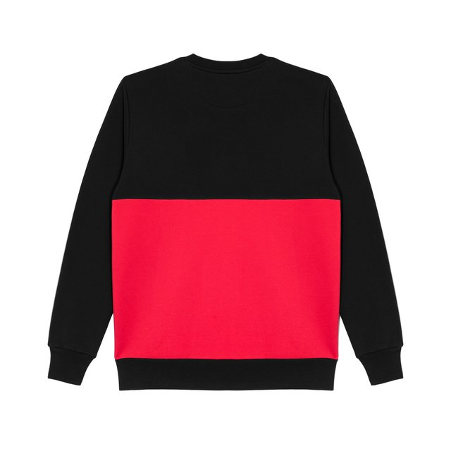 CREWNECK GROOVE RED