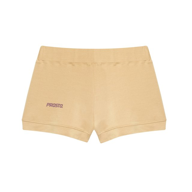 HOMEWEAR SHORTS SHINE BEIGE
