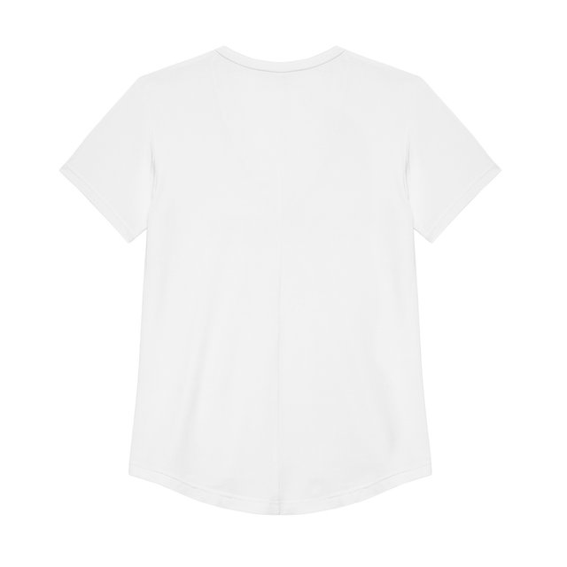 VNECK TEES SHINE WHITE