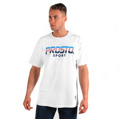 ST T-SHIRT FURROWED WHITE