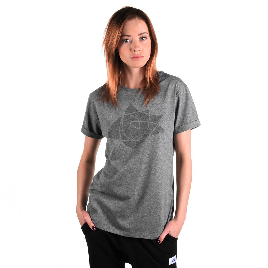 TEE SHIELDROSE GREY