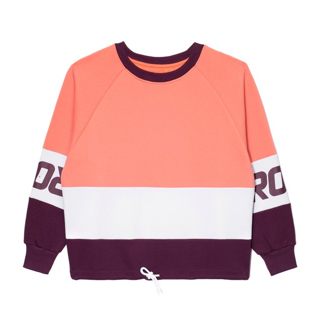 CREWNECK BALET LIGHT PINK/VIOLET