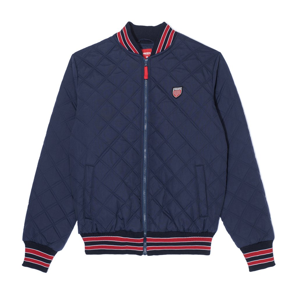 QUILTED NAVY