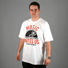 KL T-SHIRT RECORD WHITE