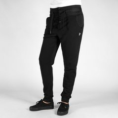 F.KL PANTS QUILT BLACK