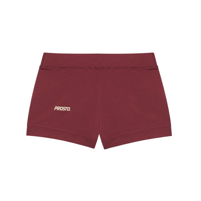 HOMEWEAR SHORTS SHINE BORDO