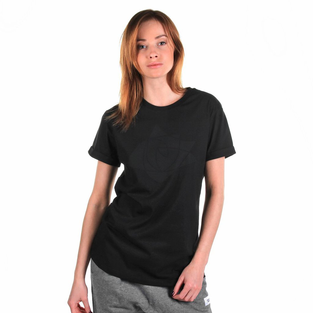 TEE SHIELDROSE BLACK