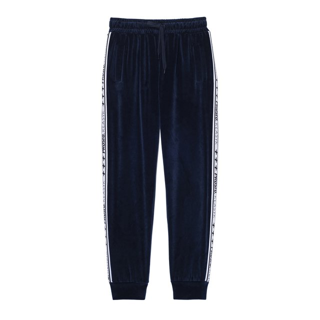 COLD VELVET PANTS NAVY