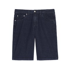 JEANS SHORTS EMBNET NAVY