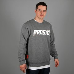 KL SWEATSHIRT STRAIGHT MEDIUM HEATHER GREY