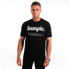 KL T-SHIRT SAMPLE BLACK
