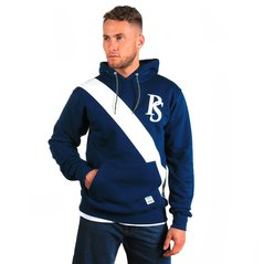 ST HOODY BADGE NAVY