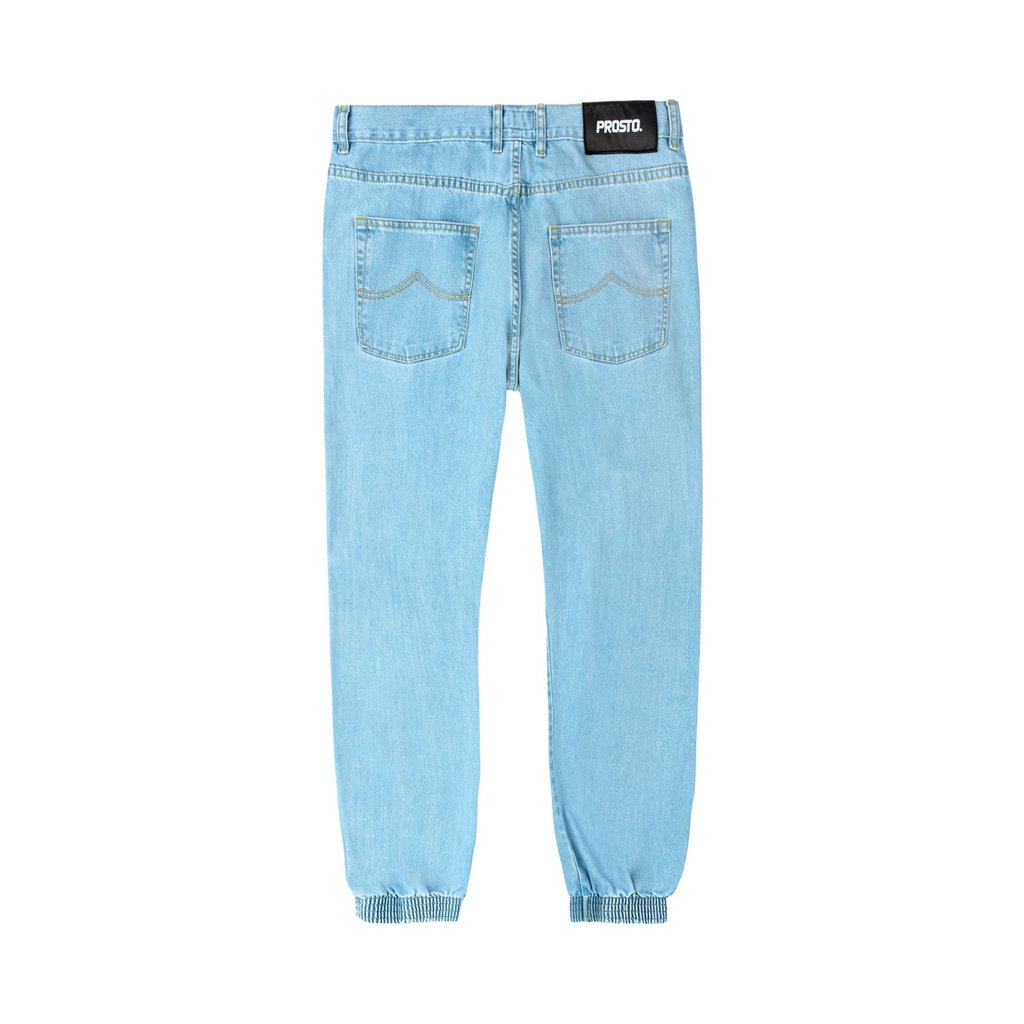 JEANS REGULAR JOGGER LIGHT BLUE