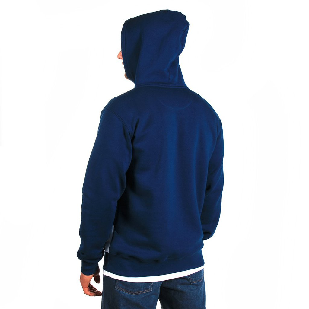 HOODY BADGE NAVY