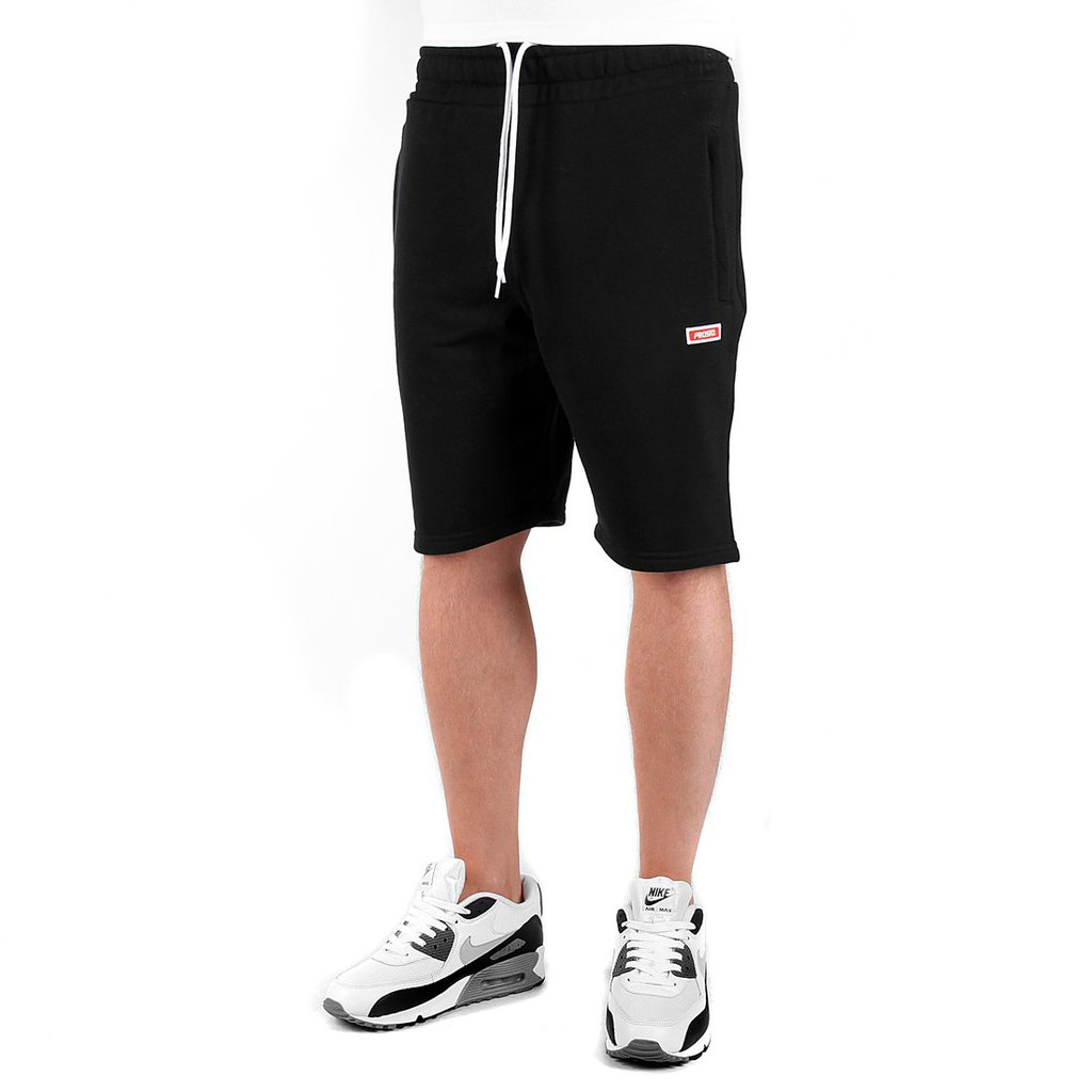 SWEATSHORTS BASIC BLACK