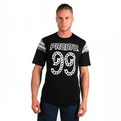 KL T-SHIRT ROPE NUMBER BLACK