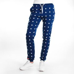 F.ST PANTS ALL DOTS NAVY