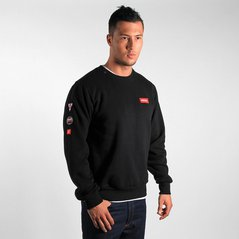 ST SWEATSHIRT OUTWARD BLACK