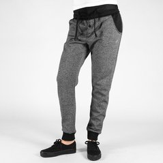 F.KL PANTS QUILT PEPPER HEATHER GREY