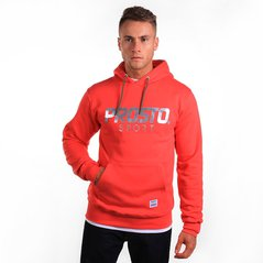 ST HOODY REFLECTION RUBY RED