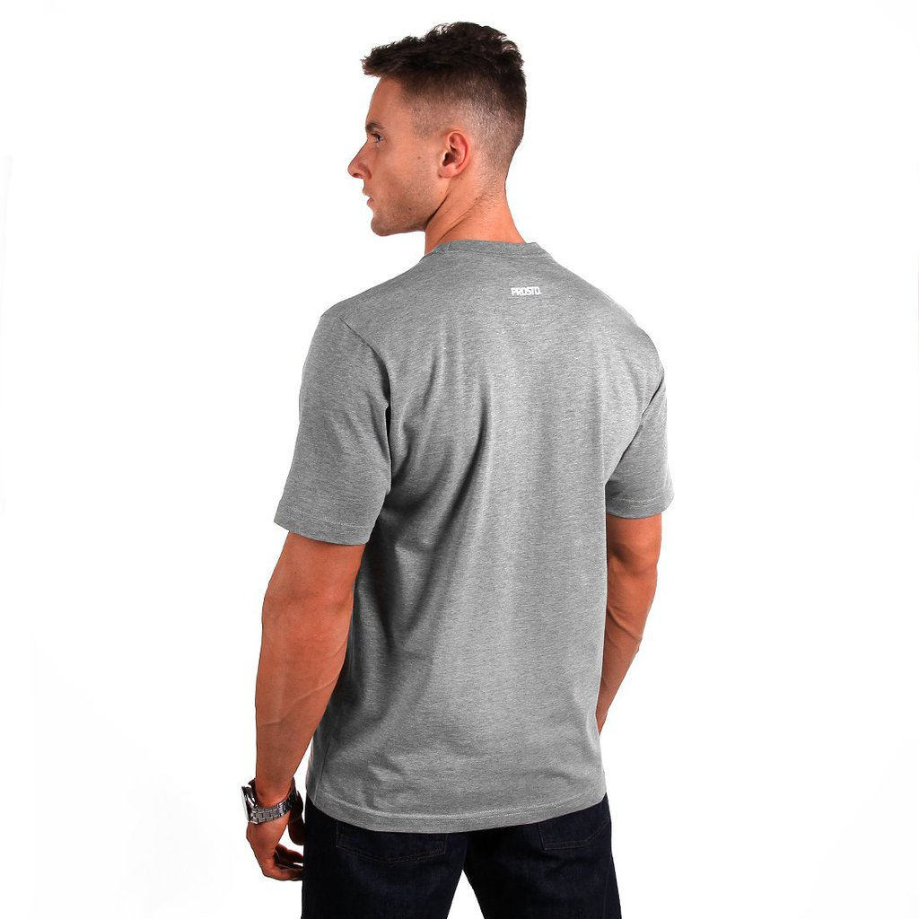 T-SHIRT SAMPLE MEDIUM HEATHER GREY