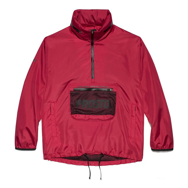 JACKET LONDON RED