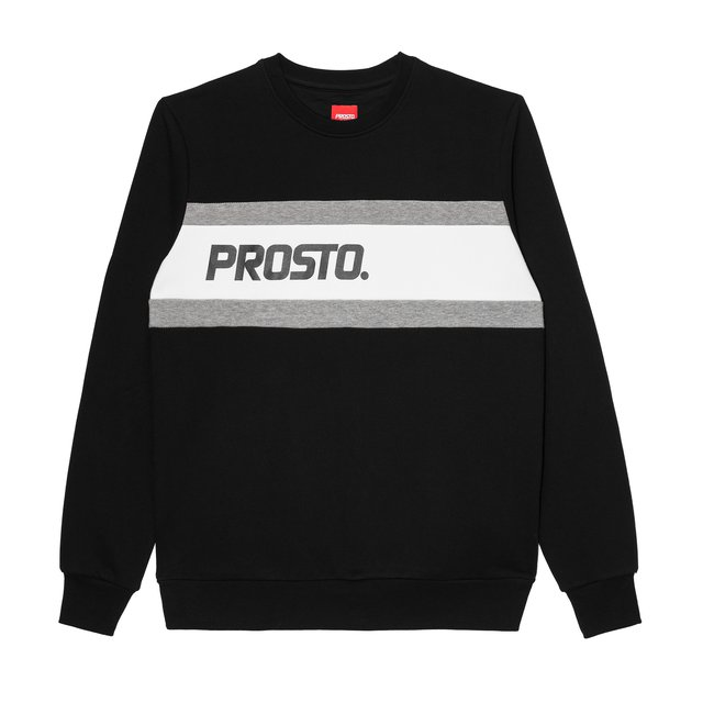 CREWNECK R.SIDE BLACK