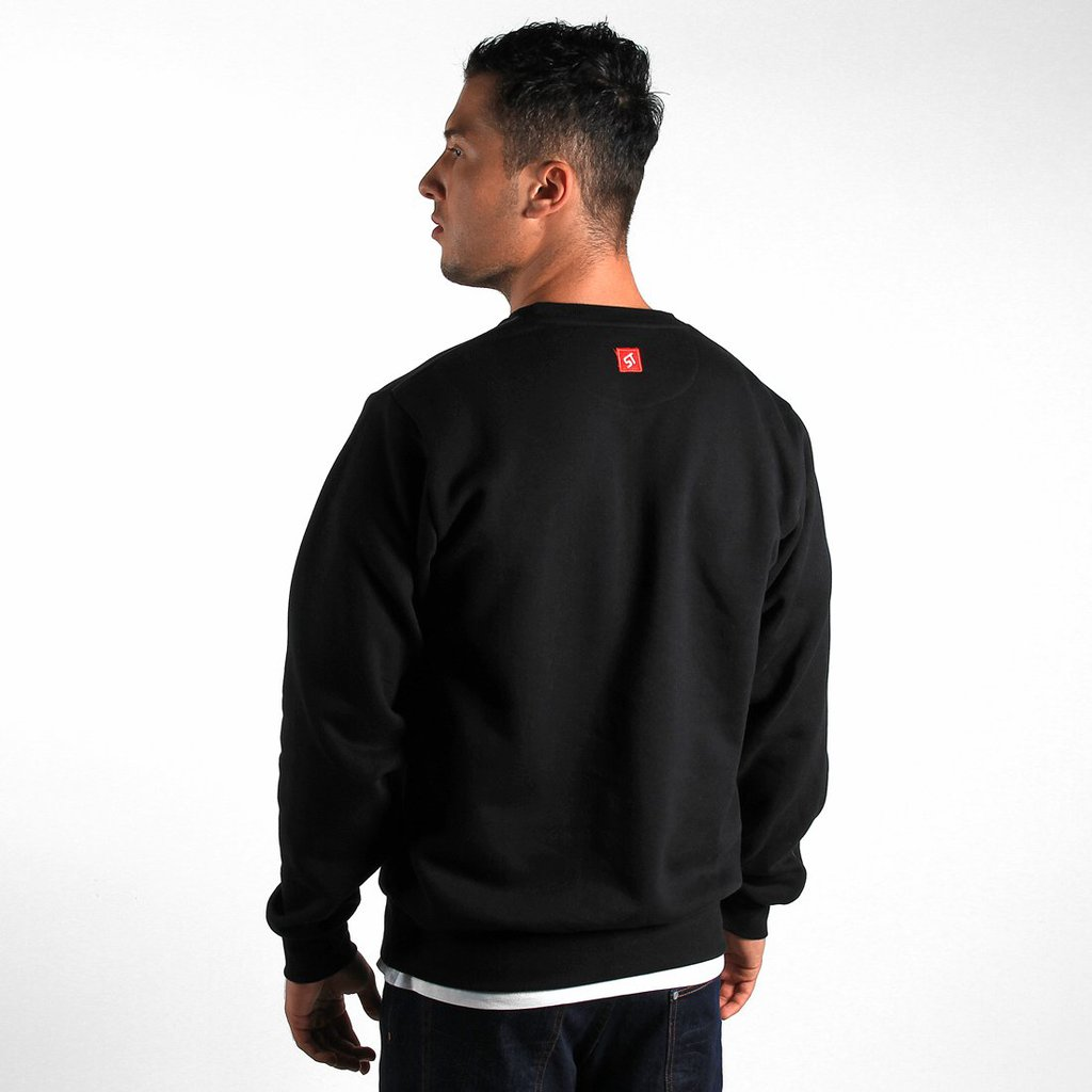 SWEATSHIRT OUTWARD BLACK