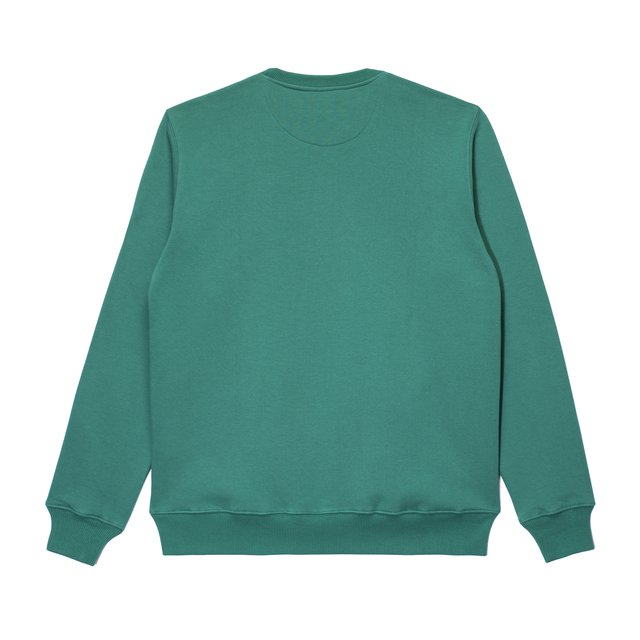 CREWNECK BIGGIE DARK GREEN