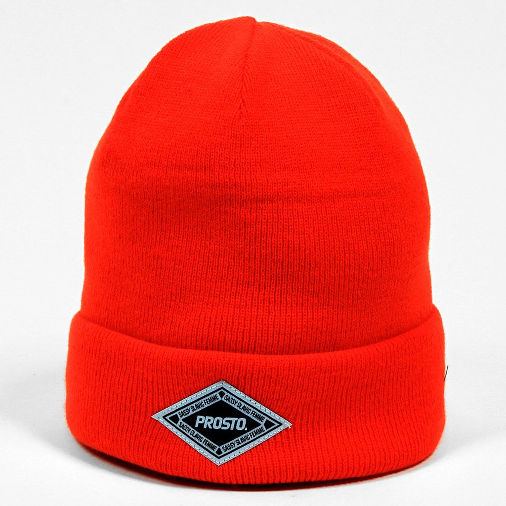 WINTERCAP LABEL FLUO ORANGE