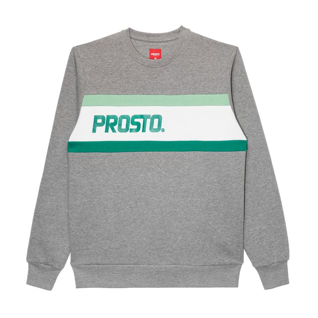 CREWNECK R.SIDE GREY