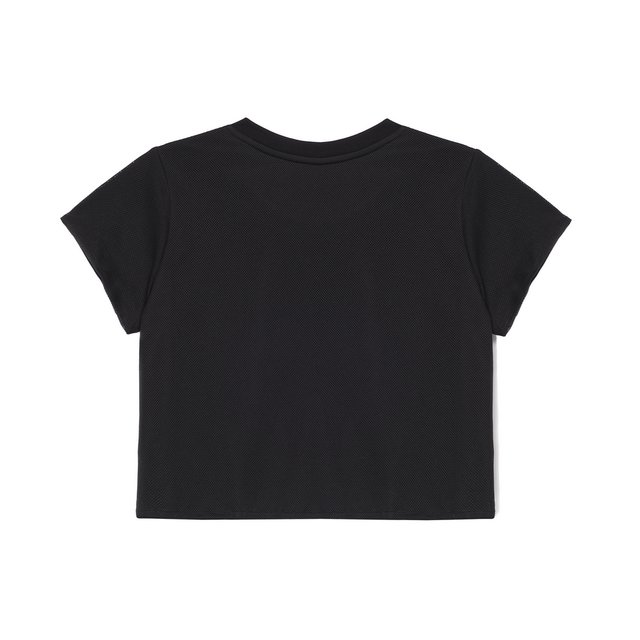 TSHIRT NET BLACK