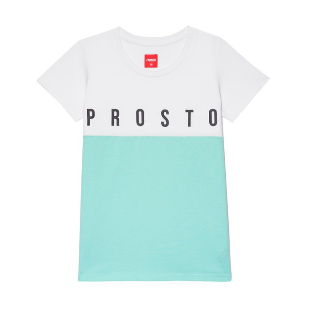 TSHIRT PUDDING WHITE/MINT