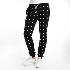 F.ST PANTS ALL DOTS BLACK
