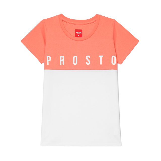 TSHIRT PUDDING LIGHT PINK/WHITE