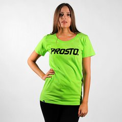 F.KL TEE PRST FLUO GREEN