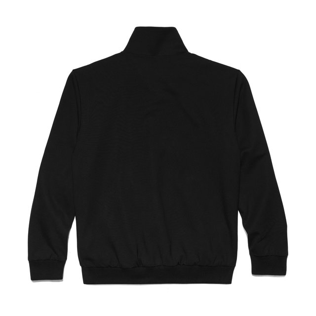SWEATSHIRT ZIP WS006 BLACK