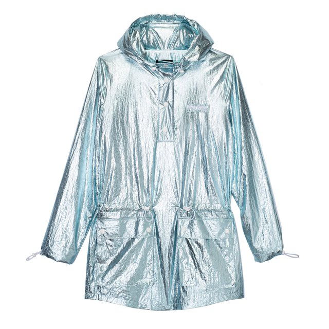 ANORAK RAINY JACKET HOLOGRAM BLUE