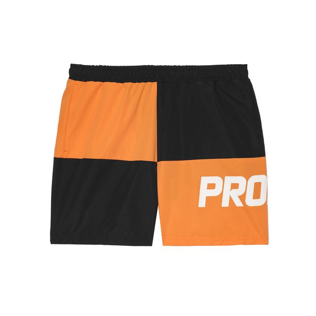 SHORTS CHES BLACK/ORANGE